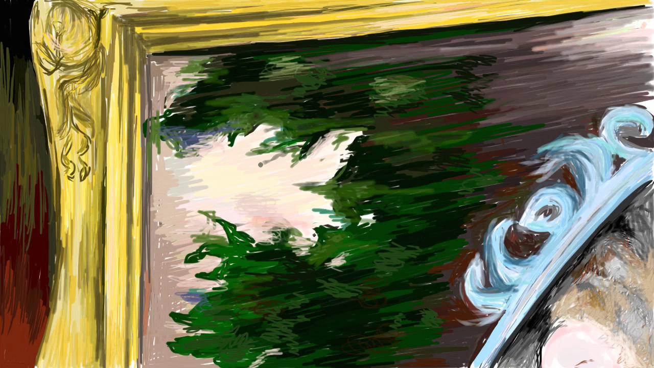 Lady Henrietta - portrait first view