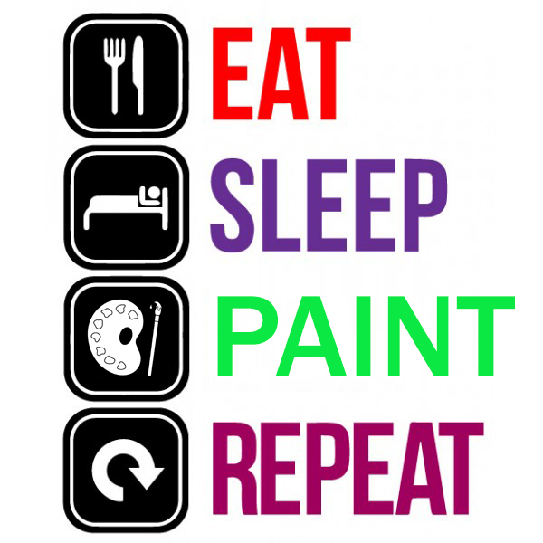 eat sleep rave repeat-FROR