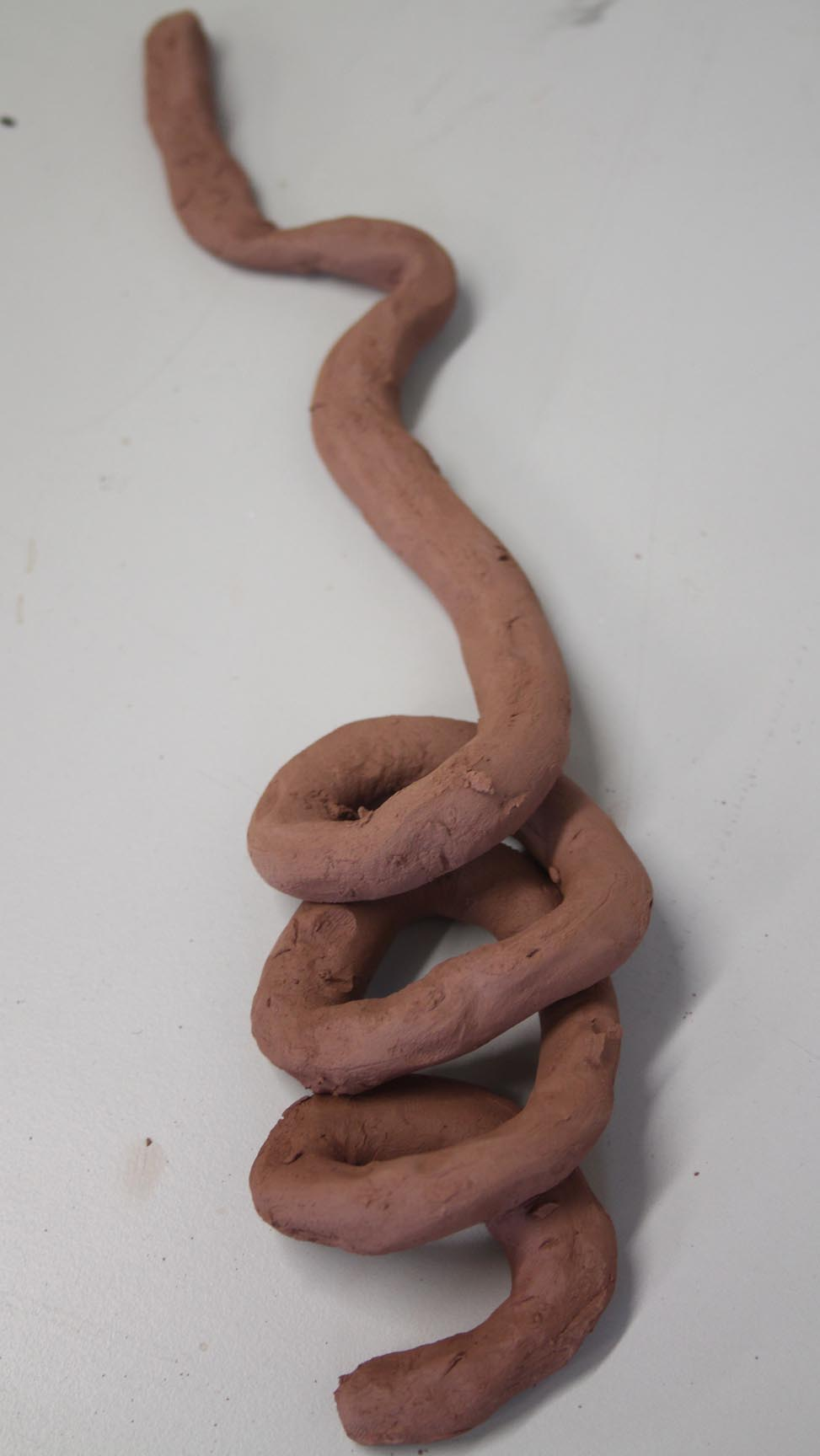Barbed clay